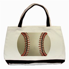 Baseball Basic Tote Bag by BangZart