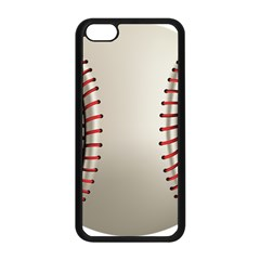 Baseball Apple Iphone 5c Seamless Case (black) by BangZart