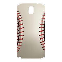 Baseball Samsung Galaxy Note 3 N9005 Hardshell Back Case by BangZart
