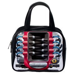 Car Engine Classic Handbags (one Side) by BangZart