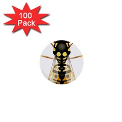 Wasp 1  Mini Buttons (100 Pack)  by BangZart