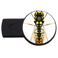 Wasp Usb Flash Drive Round (2 Gb) by BangZart