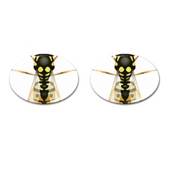 Wasp Cufflinks (oval) by BangZart