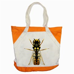 Wasp Accent Tote Bag by BangZart