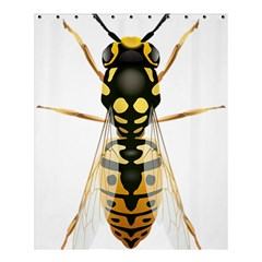 Wasp Shower Curtain 60  X 72  (medium)  by BangZart