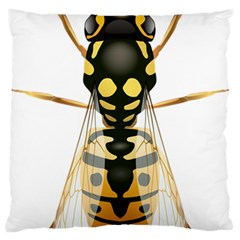 Wasp Large Cushion Case (two Sides) by BangZart