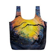 Soul Offering Full Print Recycle Bags (m)  by Dimkad