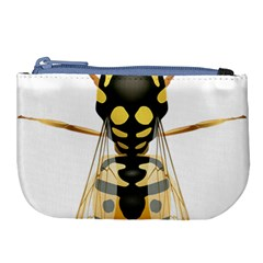 Wasp Large Coin Purse by BangZart