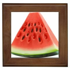 Piece Of Watermelon Framed Tiles by BangZart