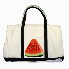 Piece Of Watermelon Two Tone Tote Bag by BangZart