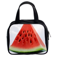 Piece Of Watermelon Classic Handbags (2 Sides) by BangZart