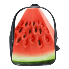 Piece Of Watermelon School Bags(large)  by BangZart
