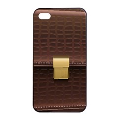 Brown Bag Apple Iphone 4/4s Seamless Case (black) by BangZart