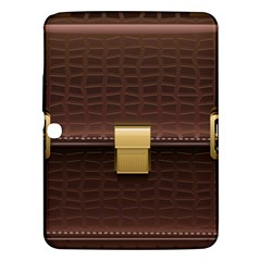 Brown Bag Samsung Galaxy Tab 3 (10 1 ) P5200 Hardshell Case  by BangZart