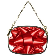 Red Bow Chain Purses (two Sides)