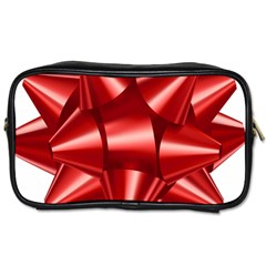 Red Bow Toiletries Bags by BangZart