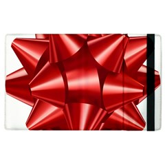 Red Bow Apple Ipad 3/4 Flip Case by BangZart
