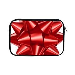 Red Bow Apple Ipad Mini Zipper Cases by BangZart