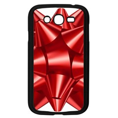 Red Bow Samsung Galaxy Grand Duos I9082 Case (black) by BangZart