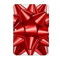 Red Bow Samsung Galaxy Tab 2 (10 1 ) P5100 Hardshell Case  by BangZart