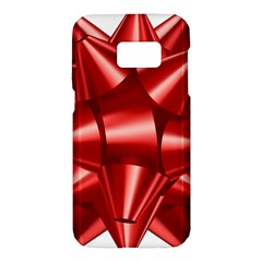 Red Bow Samsung Galaxy S7 Hardshell Case