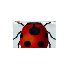 Ladybug Insects Cosmetic Bag (small)  by BangZart