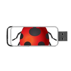 Ladybug Insects Portable Usb Flash (two Sides)