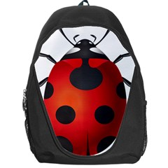 Ladybug Insects Backpack Bag by BangZart