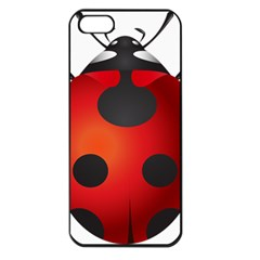 Ladybug Insects Apple Iphone 5 Seamless Case (black) by BangZart