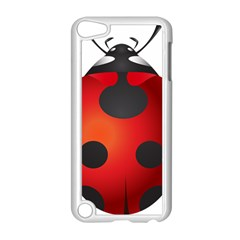 Ladybug Insects Apple Ipod Touch 5 Case (white)