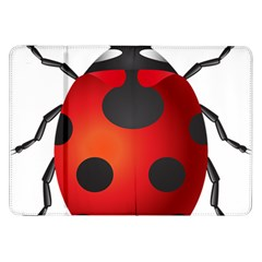 Ladybug Insects Samsung Galaxy Tab 8 9  P7300 Flip Case by BangZart