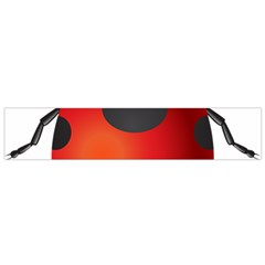 Ladybug Insects Flano Scarf (small)