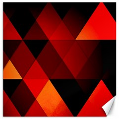Abstract Triangle Wallpaper Canvas 12  X 12   by BangZart
