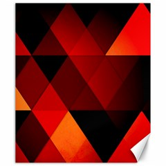 Abstract Triangle Wallpaper Canvas 20  X 24