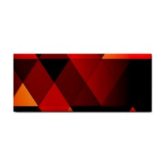 Abstract Triangle Wallpaper Cosmetic Storage Cases