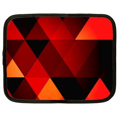 Abstract Triangle Wallpaper Netbook Case (xxl)  by BangZart
