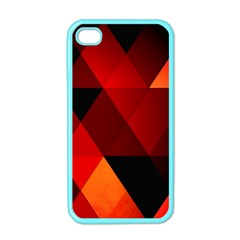 Abstract Triangle Wallpaper Apple Iphone 4 Case (color) by BangZart