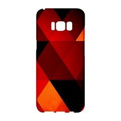 Abstract Triangle Wallpaper Samsung Galaxy S8 Hardshell Case  by BangZart
