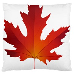 Autumn Maple Leaf Clip Art Standard Flano Cushion Case (one Side) by BangZart
