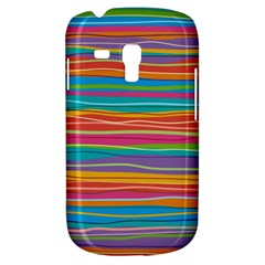 Colorful Horizontal Lines Background Galaxy S3 Mini by TastefulDesigns