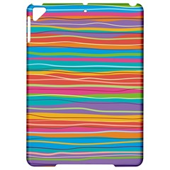 Colorful Horizontal Lines Background Apple Ipad Pro 9 7   Hardshell Case by TastefulDesigns