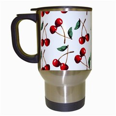 Cherry Red Travel Mugs (white) by Kathrinlegg