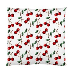 Cherry Red Standard Cushion Case (two Sides) by Kathrinlegg