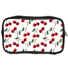 Cherry Red Toiletries Bags 2 Side by Kathrinlegg