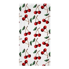 Cherry Red Shower Curtain 36  X 72  (stall)  by Kathrinlegg