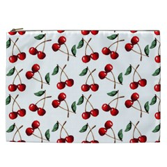 Cherry Red Cosmetic Bag (xxl)  by Kathrinlegg