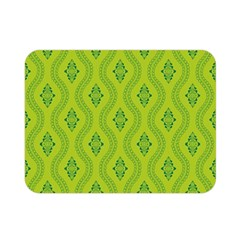 Decorative Green Pattern Background  Double Sided Flano Blanket (mini)  by TastefulDesigns