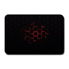Abstract Pattern Honeycomb Plate Mats by BangZart