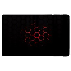 Abstract Pattern Honeycomb Apple Ipad 2 Flip Case by BangZart