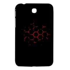 Abstract Pattern Honeycomb Samsung Galaxy Tab 3 (7 ) P3200 Hardshell Case  by BangZart